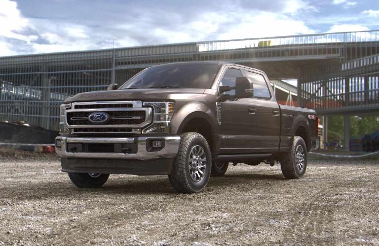 2021 Ford Super Duty in Stone Gray