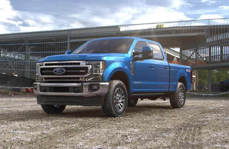 2021 Ford Super Duty in Velocity Blue