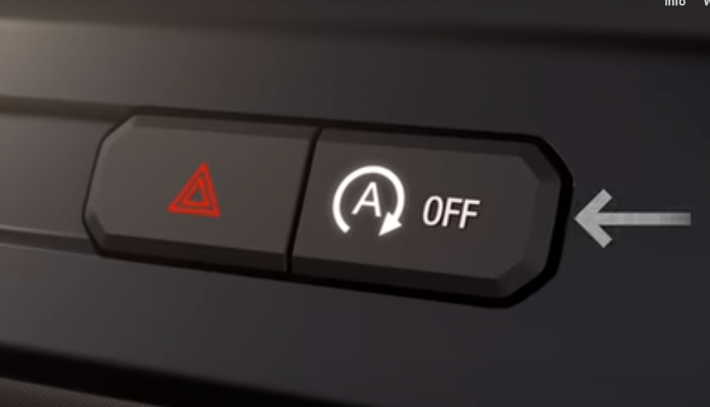 Ford Auto Start-Stop Button