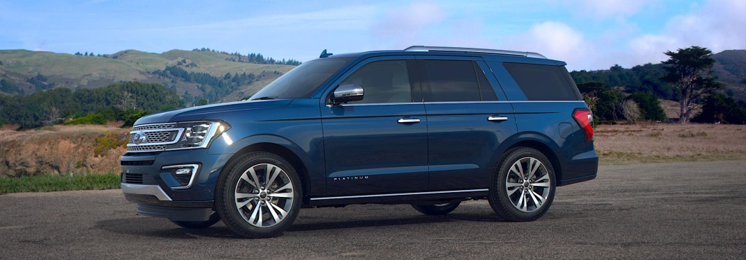 2021 Ford Expedition in new Antimatter Blue paint color