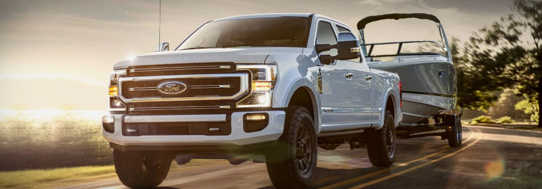 2021 Ford Super Duty Towing & Payload Capacities