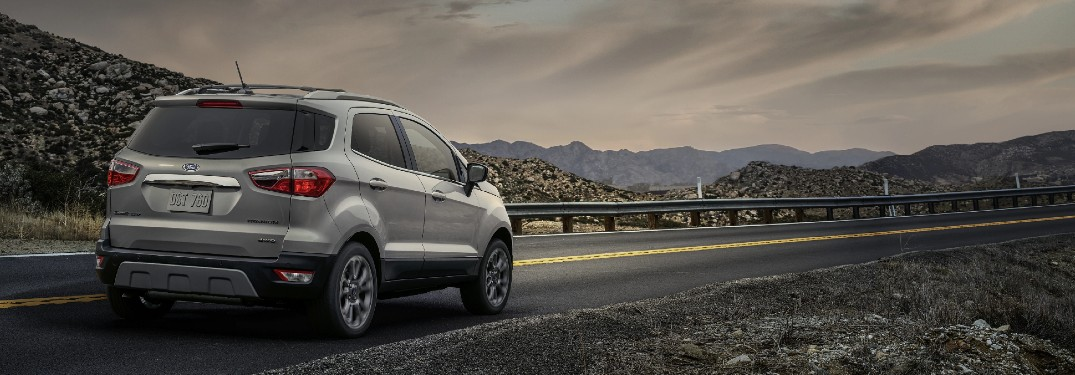 What's New in the 2021 Ford EcoSport?