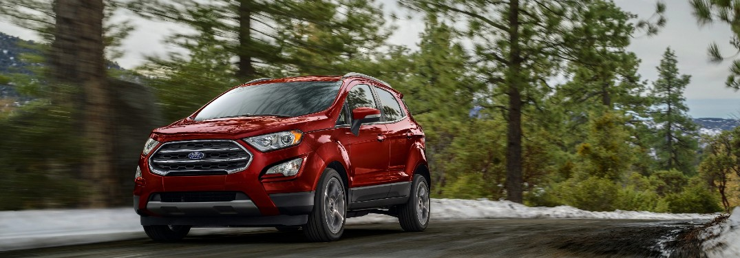 What Colors Are Available on the 2021 Ford EcoSport?