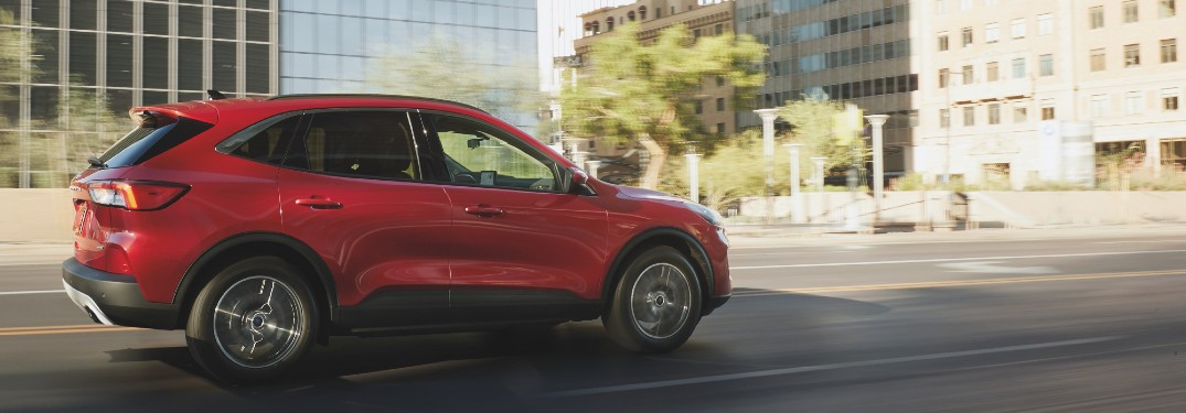 What's New in the 2021 Ford Escape?