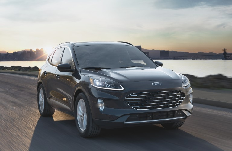 2021 Ford Escape on coastal road