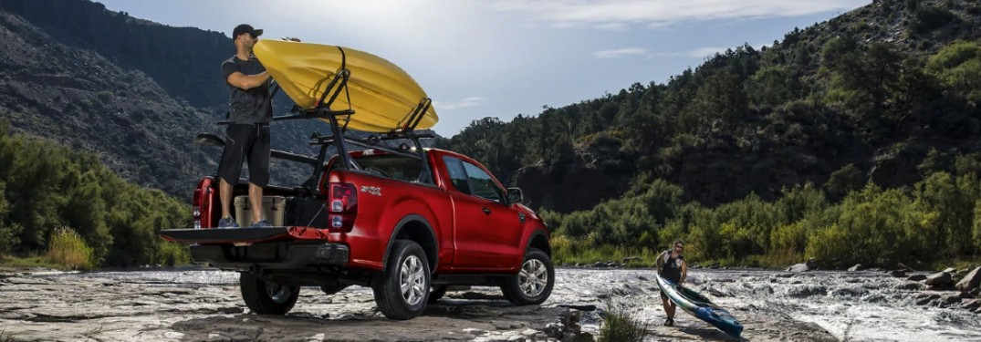 2021 Ford Ranger at rapids