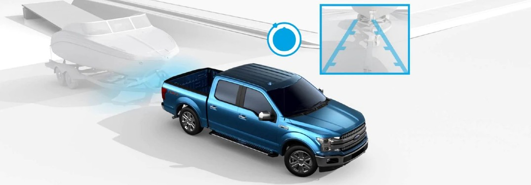 Pro Trailer Backup Assist™ on the Ford F-150 truck