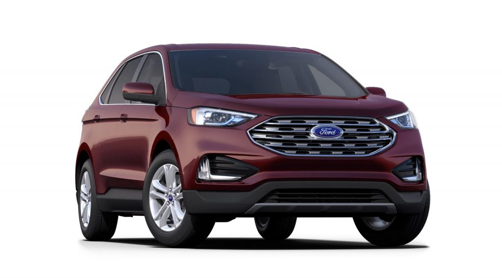 2021 Ford Edge Burgundy Velvet