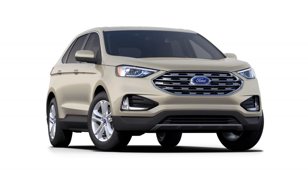 2021 Ford Edge Desert Gold