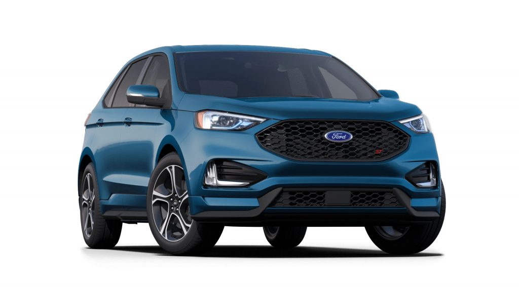 2021 Ford Edge Performance Blue