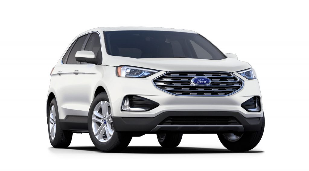 2021 Ford Edge Star White