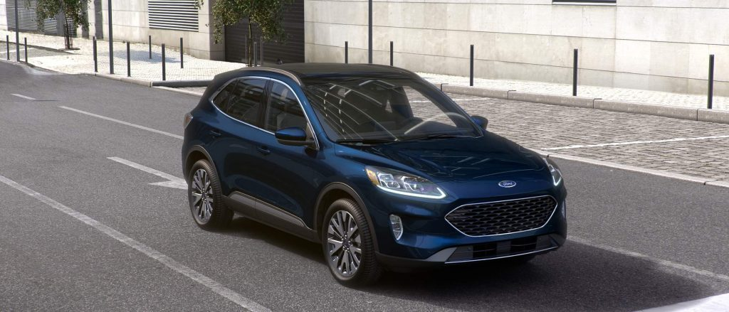 2021 Ford Escape Antimatter Blue