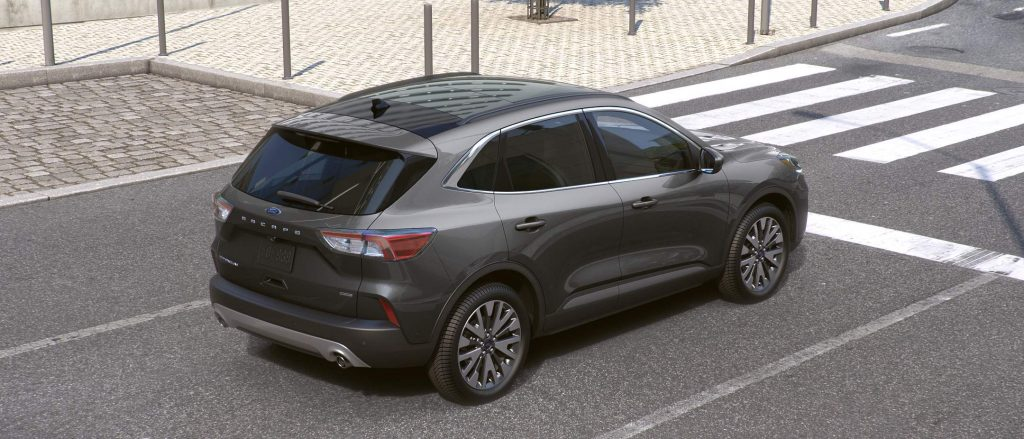 2021 Ford Escape Carbonized Gray