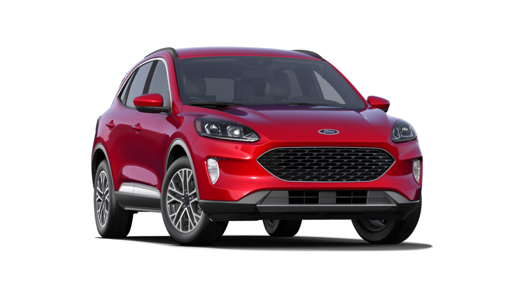 2021 Ford Escape Rapid Red