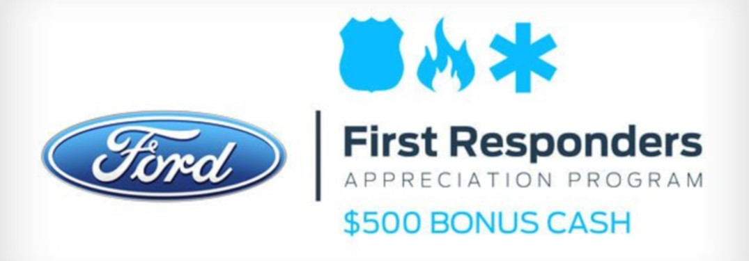 Do Ford Dealerships Offer a First Responder Discount?