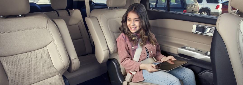 2021 Ford Explorer interior seating