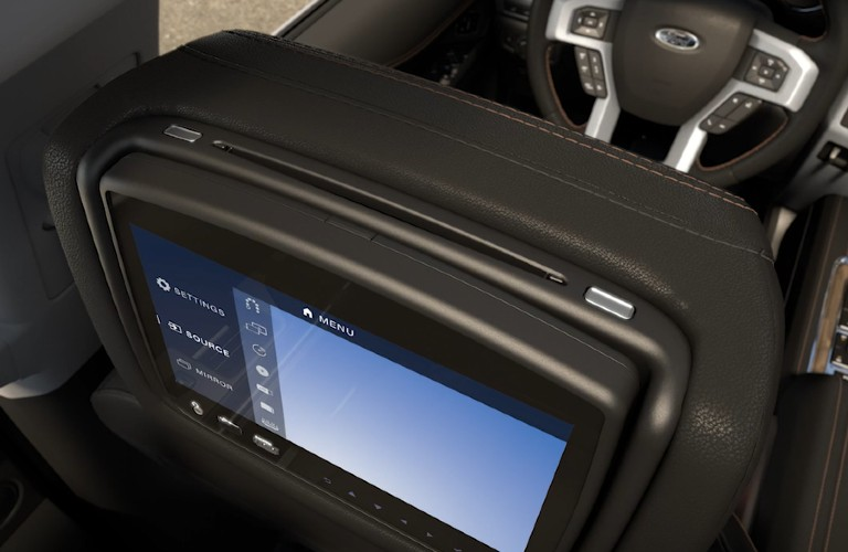 2021 Ford Expedition Entertainment System disc compartment slot