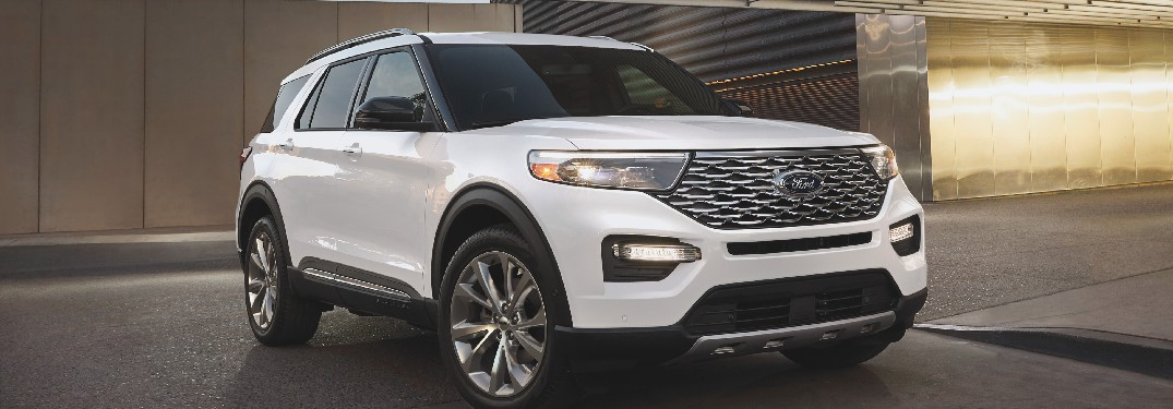 Standard and Available Co-Pilot360™ Features in the 2021 Ford Explorer