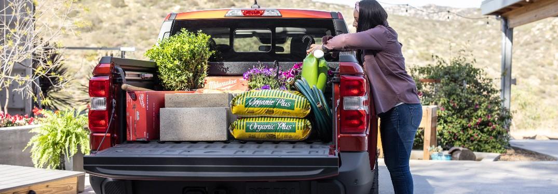 2022 Ford Maverick FLEXBED hauling landscaping itemsverick FLEXBED hauling landscaping items