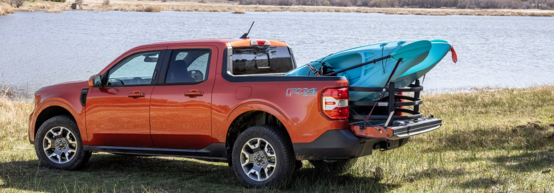 2022 Ford Maverick by lakeside