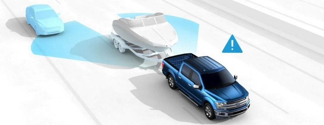 Ford BLIS® with Trailer Coverage.