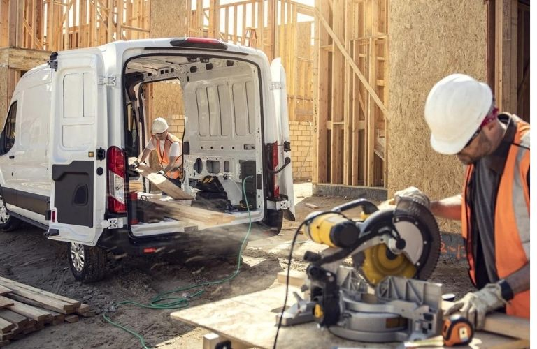 2022 Ford E-Transit pro-power onboard.