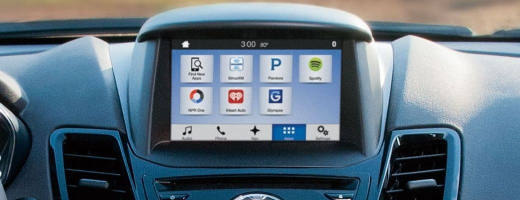 Ford SYNC® 3 touchscreen display