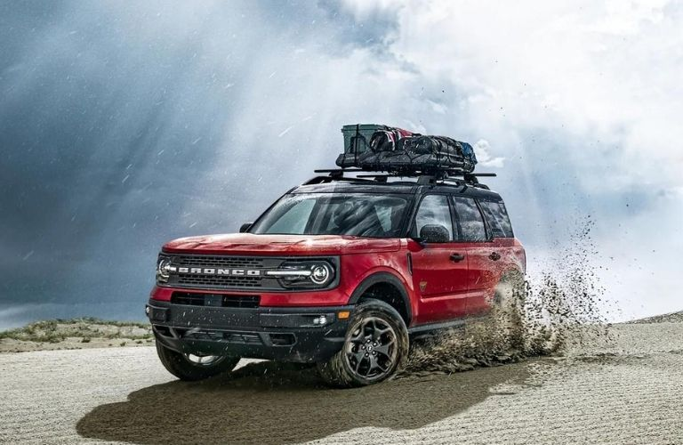 2021 Ford Bronco Sport Off-Roading