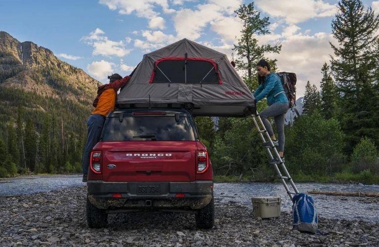 2021 Ford Bronco Sport rear profile