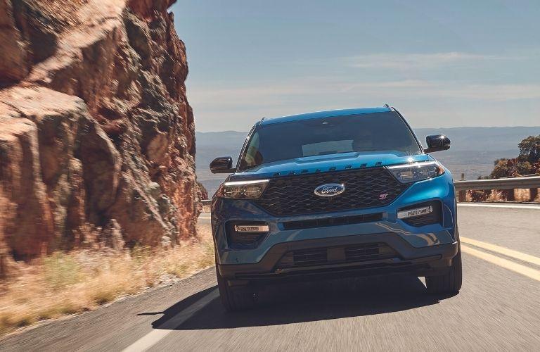2022 Ford Explorer ST front profile