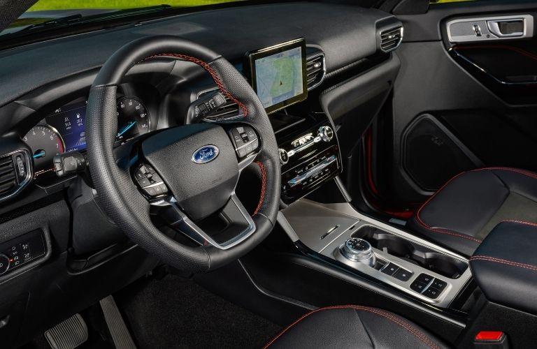 2022 Ford Explorer ST line interiors