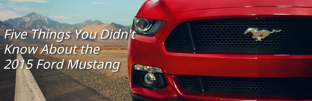 5 Things You Didn't Know About the 2015 Ford Mustang