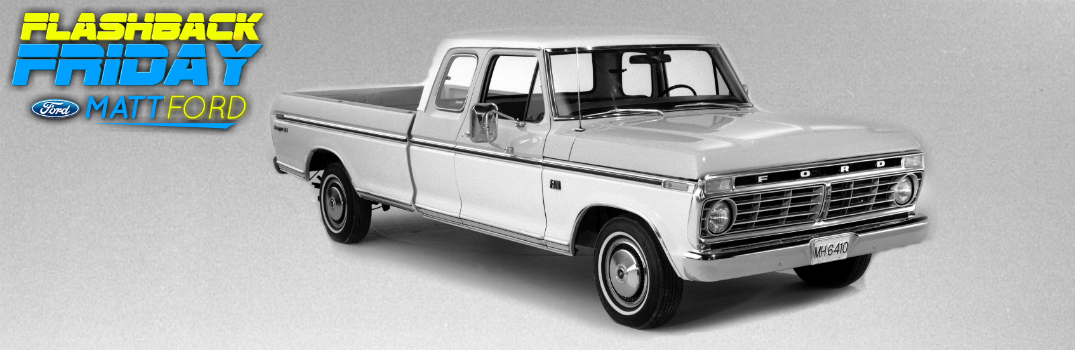 Flashback Friday: The Evolution of the Ford F-Series