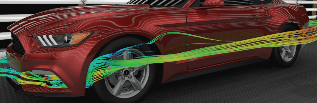 Aerodynamics Are A Key Part Of The 2015 Ford Mustang