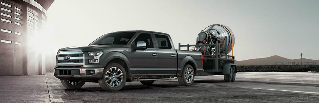2015 ford f 150 achieves segment leading towing and hauling matt ford. Black Bedroom Furniture Sets. Home Design Ideas