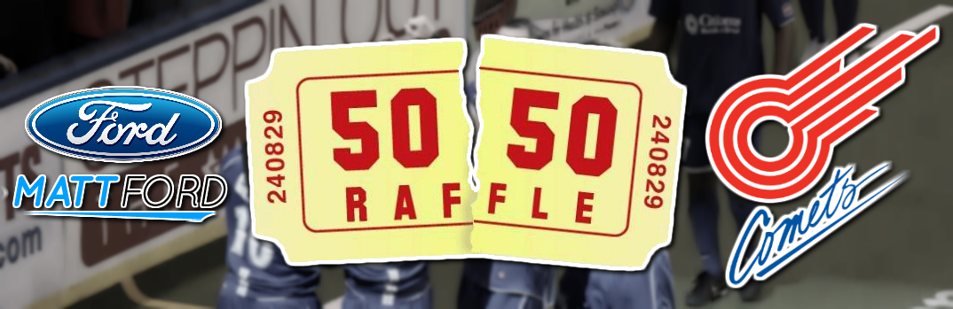 Nominate a Charity for a Missouri Comets 50/50 Raffle
