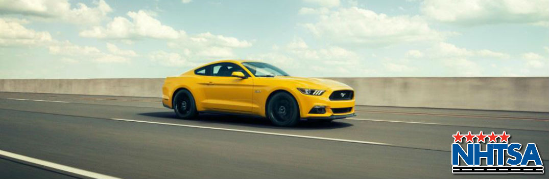 2015 Ford Mustang Earns Top Safety Rating from NHTSA