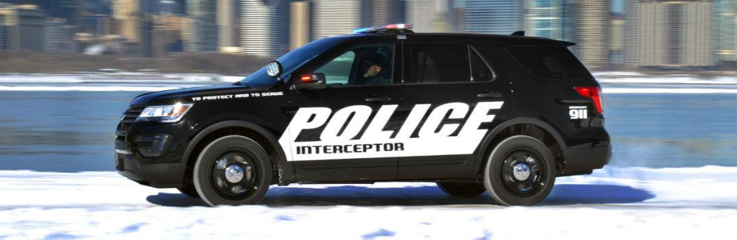 Ford Police Interceptor Utility Vehicle Chicago Auto