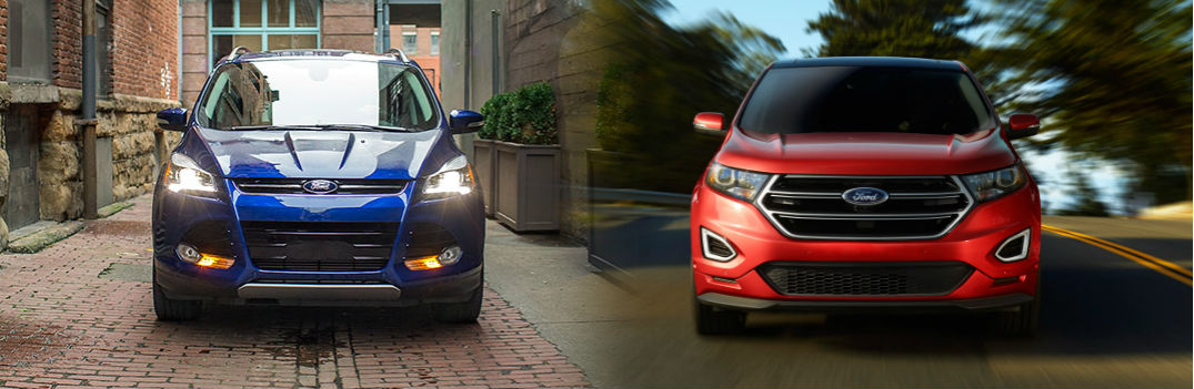 Ford Edge Vs Ford Escape Differences Between Suv
