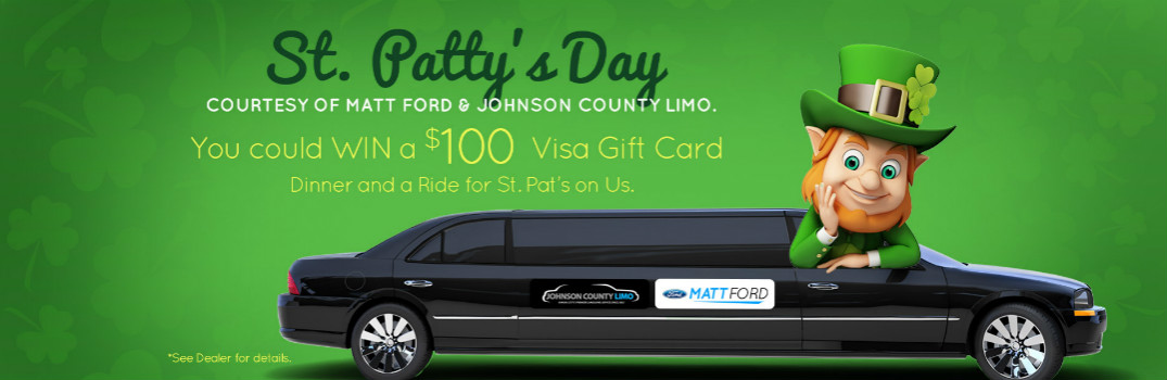 Enter To Win a Spectacular St. Patty's Day Prize Package