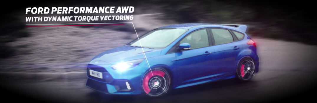 Focus RS Will Come With Unrivaled All-Wheel Drive System