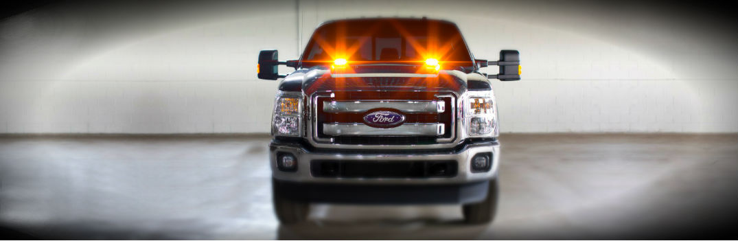 2016-ford-f-series-super-duty-led-strobe-warning-lights-range-hood-construction-crew-factory-install