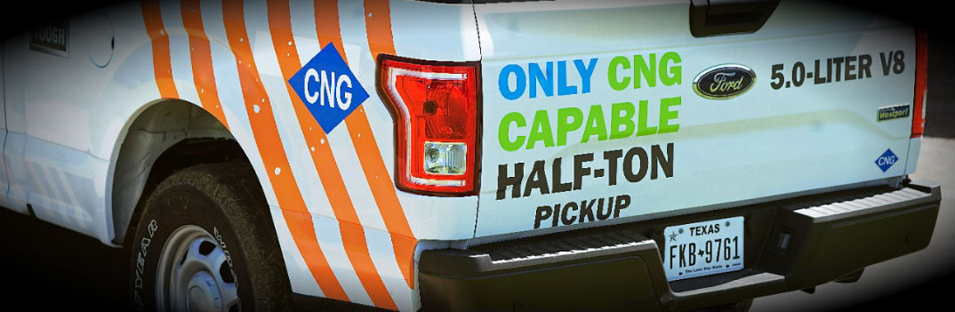 2016 Ford F-150 to Offer CNG/Propane Engine-Prep Package