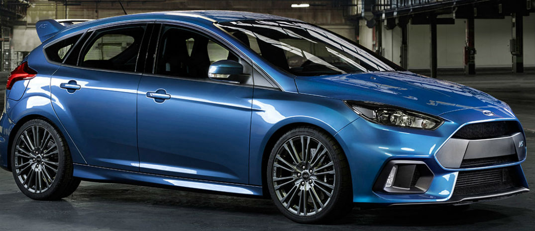 2016 Ford Focus RS Will Have Top-End Performance Parts