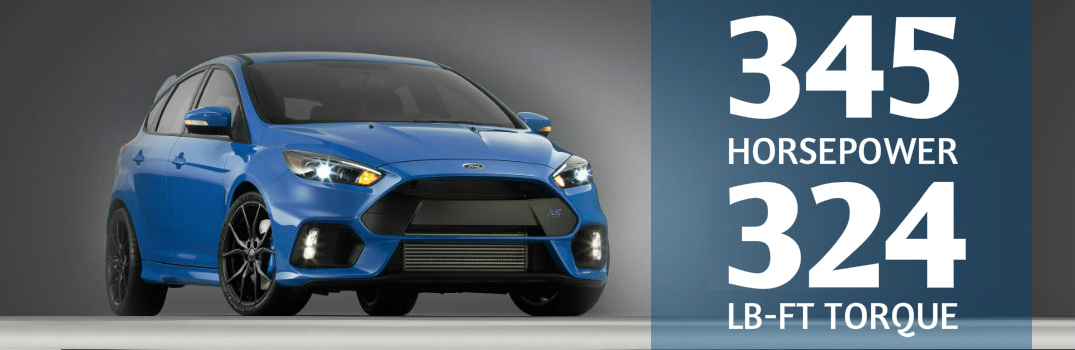 Ford Announces Horsepower and Torque Ratings of Focus RS