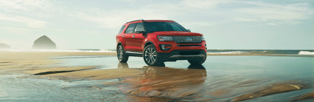 Available Colors on the 2016 Ford Explorer