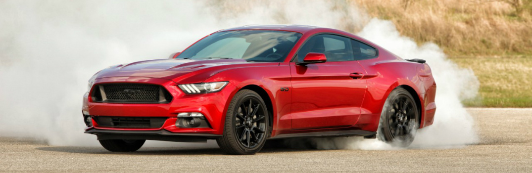 Powertrain Options on the 2016 Ford Mustang