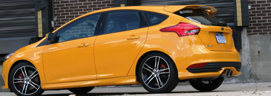New Ford Focus ST Performance Package