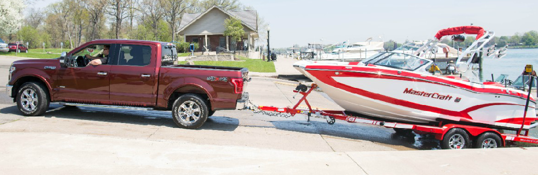 New Pro Trailer Backup Assist Option on 2016 Ford F-150