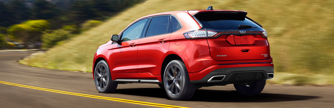 What is Adaptive Steering on the 2016 Ford Edge?